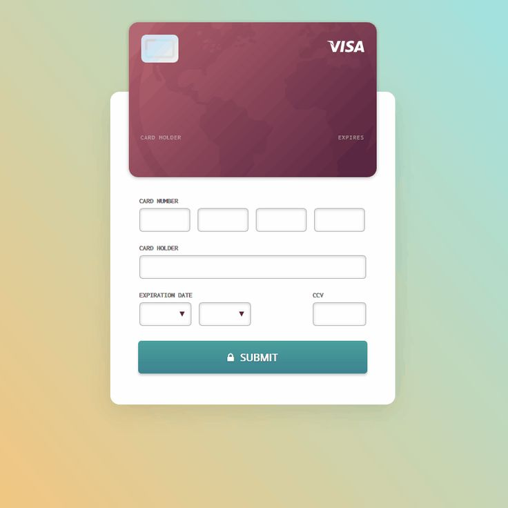 Credit Card Checkout Form Coding Code CSS CSS3 Form HTML HTML5 Javascript jQuery Resource SCSS Snippets Transition Web Design Web Development