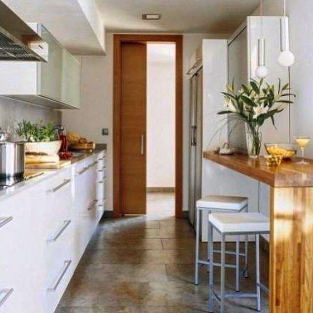 Cocina blanca en l nea kitchen cocinas inspiraci n for Mesas cocina zaragoza