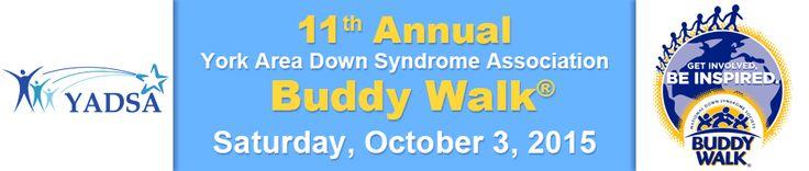 11th Annual York Area Down Syndrome Association Buddy Walk®