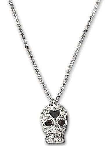 Swarovski Skull Pendant Necklace