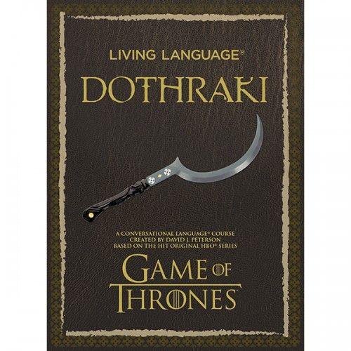 Living Language Dothraki: A Conversational Language Course Based on the Hit Original HBO Series Game of Thrones (Audiobook) $19.99