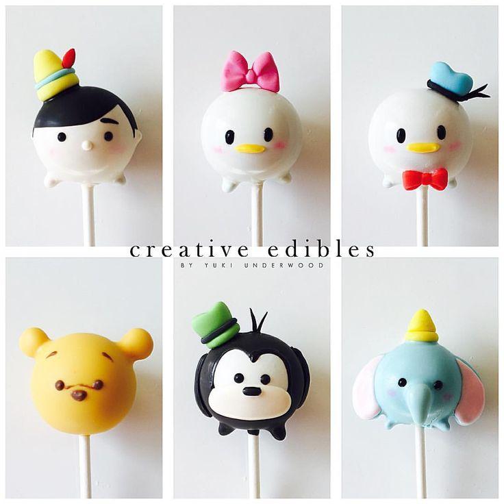 Disney Tsum Taum Pinocchio, Daisy Duck, Donald Duck, Pooh, Goofy & Dumbo Cake Pops