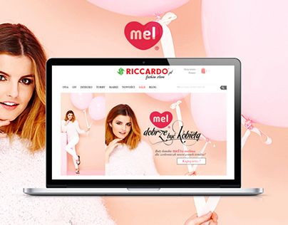 "Check out new work on my @Behance portfolio: ""Mel - internet campaign for the e-store Riccardo.pl"" http://on.be.net/1J8whf2"