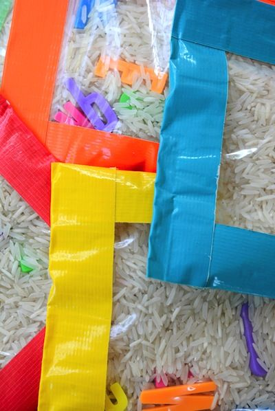 Meri Cherry sensory bean bags DIY toy