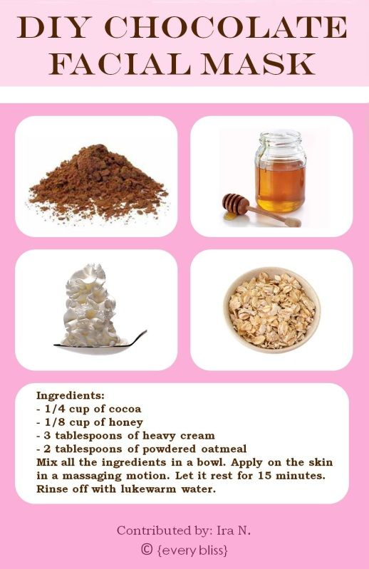 Learn how to make your own Facial Mask  http://www.stepbystep.com/guide-to-making-your-own-at-home-facial-mask-4680/