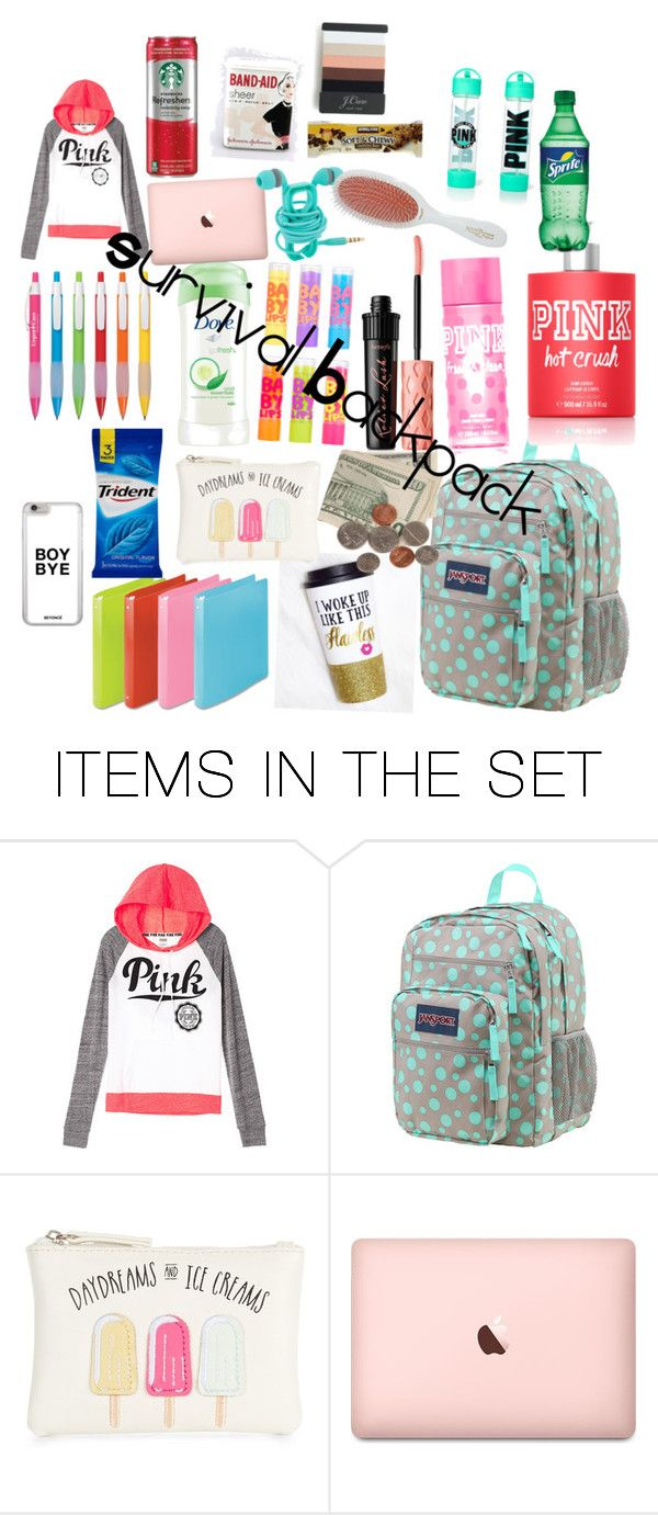 """""""What's in my backpack"""" by krocks317 on Polyvore featuring art"""
