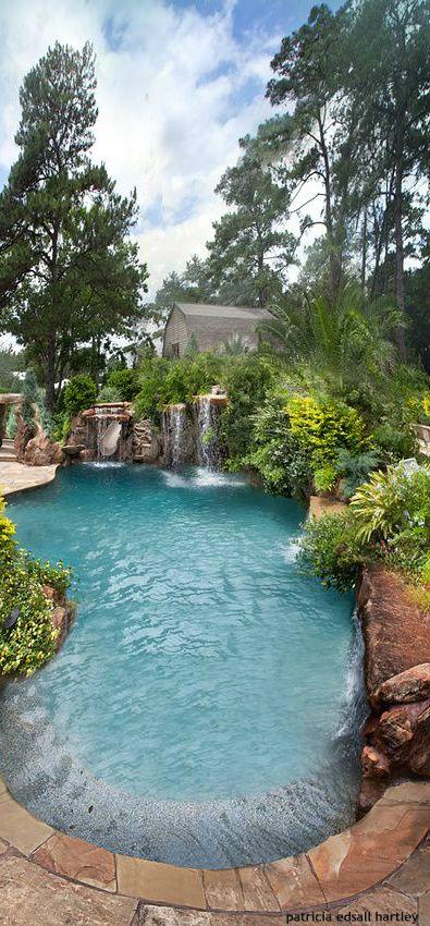 Schöne Orte, Luxus Pools, Pool Hinterhof, Modernen Luxus, Schwimmbecken,  Haus Pools, Landschaft, Haciendas
