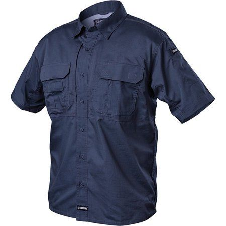 Blackhawk Tactical Pursuit Short Sleeve Shirts Navy 2XL, Men's, Size: 2Xlarge, Blue