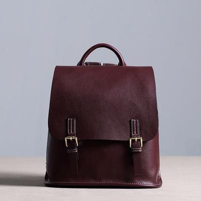Leather Backpack 08de2e53f5297
