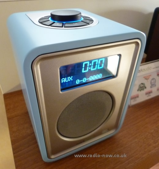 Ruark R1 DAB and FM radio in Limited Edition pastel blue