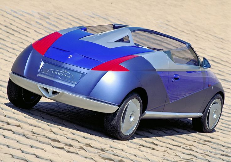 Ford Fiesta concept: Saetta - 1996