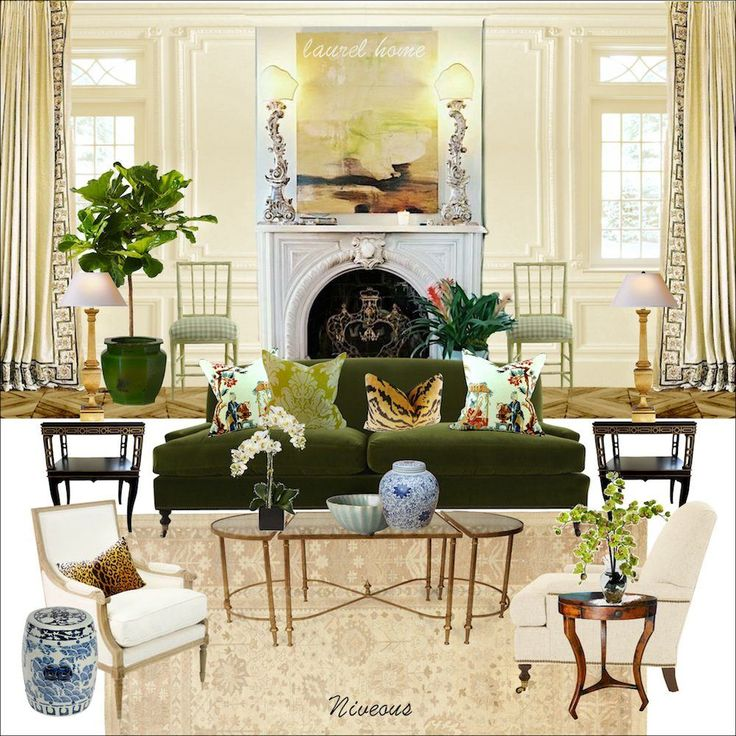 Here's How You Can Create Beautiful Rooms - Effortlessly - laurel home | come check out my mood boards on the blog. Here is one I made featuring Benjamin Moore's Niveous, a beautiful, deep rich cream