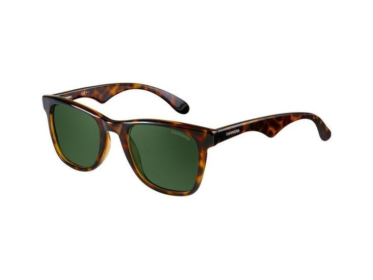 Klassieke zonnebril van Carrera Eyewear, model Dark Havanna. Nice!