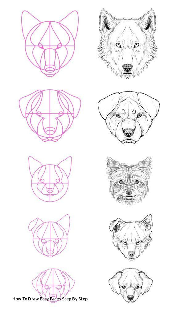 How To Draw Easy Faces Step By Step 61 Best E E Images On Pinterest Of How To Draw Easy Faces Step By Step Face Drawi Art Tutorials Animal Drawings Drawings