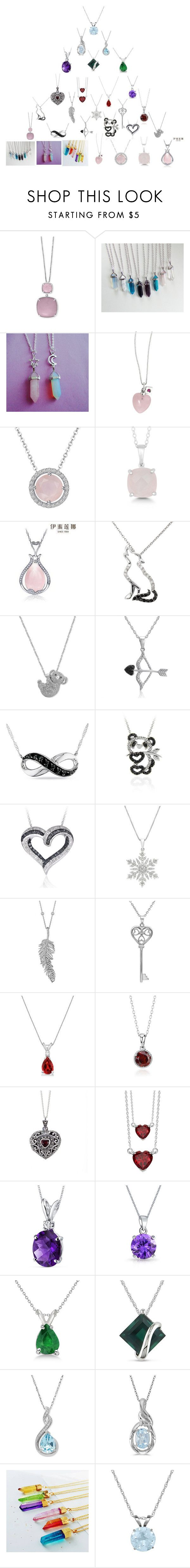 """""""Necklaces"""" by giacozz ❤ liked on Polyvore featuring Effy Jewelry, H.Azeem, La Preciosa, Italina, Malin + Mila, Amanda Rose Collection, Ice, DB Designs, Penny Preville and Allurez"""