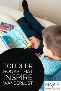 There are quite a few book series geared for babies and toddlers that feature amazing travel destinations. Click to read more or pin to save for later. www.marcieinmommyland.com #boardbook #familytravel #wanderlust