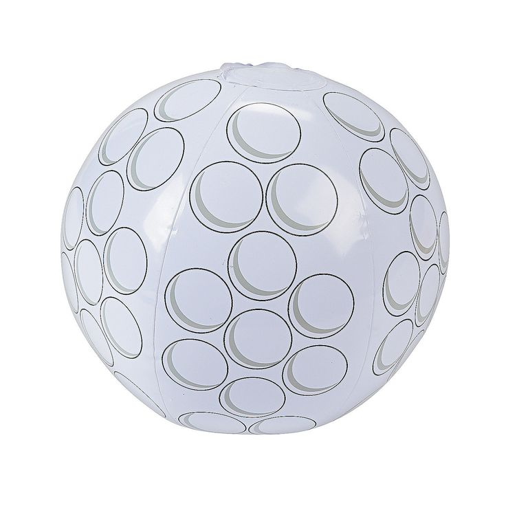 Inflatable Golf Ball Beach Ball | Blow Up Sports Toy