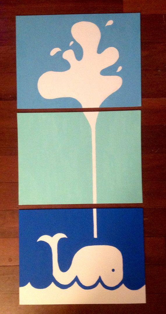 Bathroom Canvas Art: 25+ Best Ideas About Whale Canvas On Pinterest