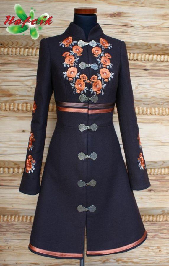 plaszcz 7 - Hafcik - pracownia krawiectwa artystycznego, stroje regionalne. Clothes inspired from Polish Folklore - Hafcik.com