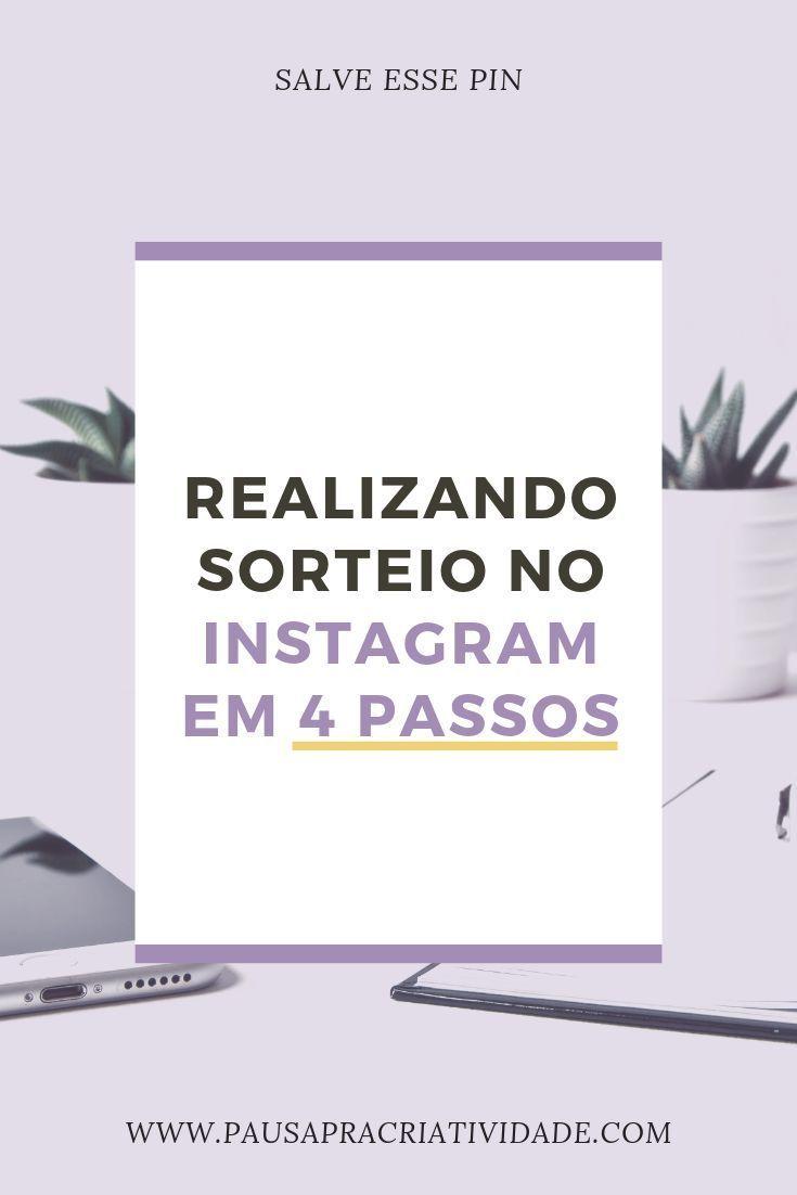 Como Realizar Um Sorteio Pelo Instagram Em 4 Passos Sorteio No