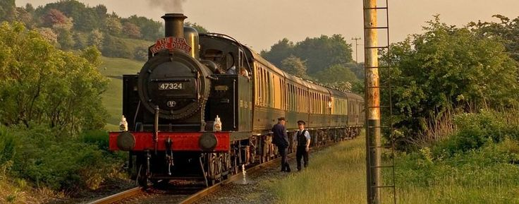 East Lancashire Railway - Red Rose Diner Train