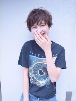 【BALLOON HAIR】ジェンダーレス・ベビーショート)メルトカラー