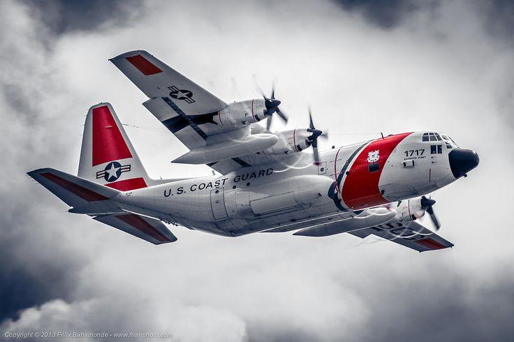 U.S. Coast Guard HC-130H by Félix Bahamonde on 500px