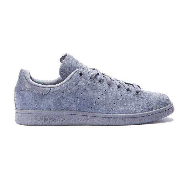 The Adidas Stan Smith is back in a tonal grey color way for fall. A rich charcoal grey suede makes this a must have!