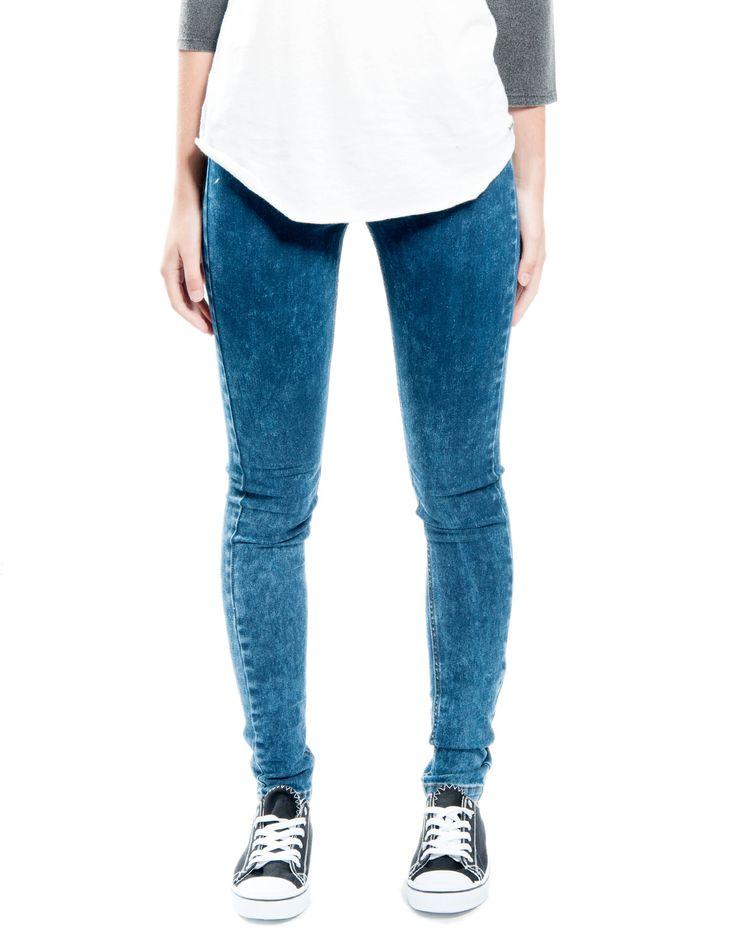 Jegging lavado goma cintura Double Agent 19,99€ www.doubleagent.es #fashion  #denim #jeans #trends