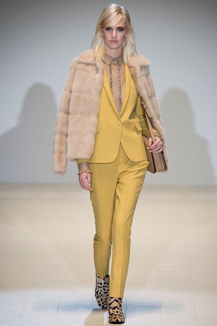 Gucci Fall 2014 Ready-to-Wear Styling Inspiration