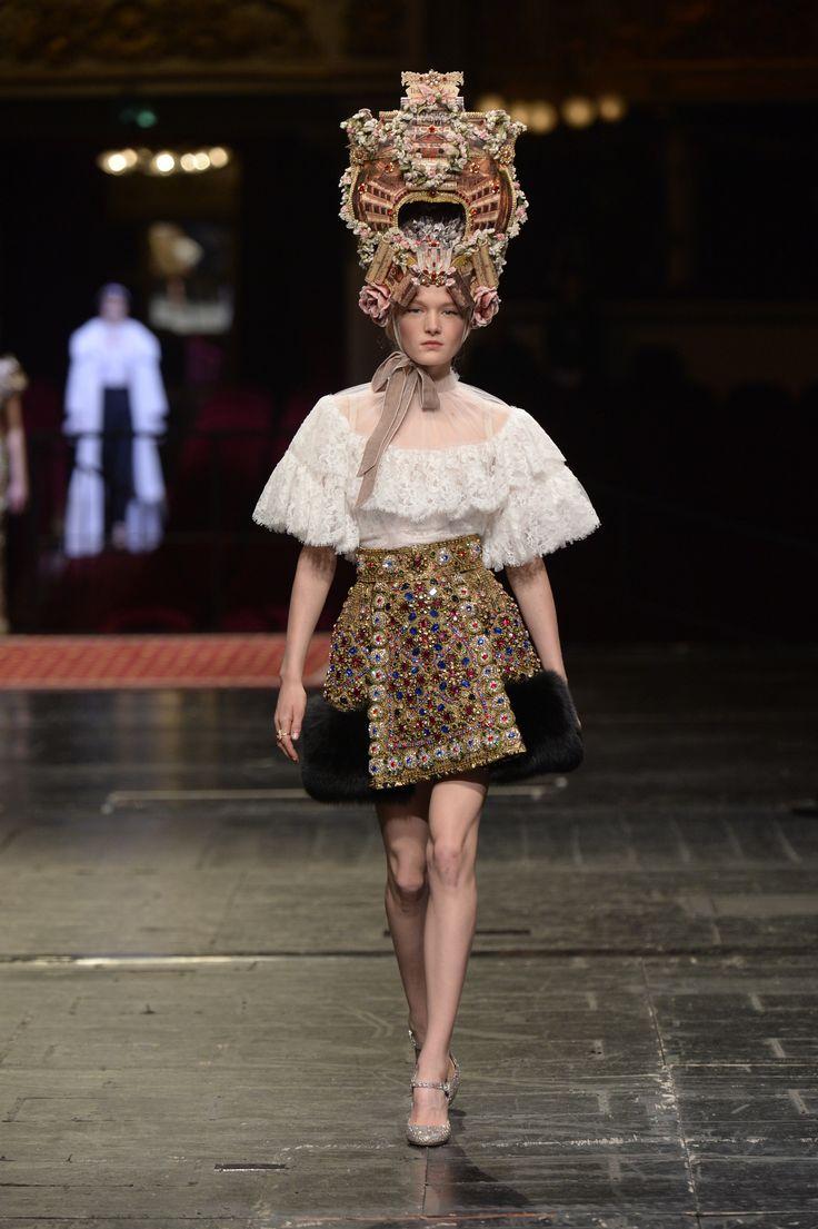 Dolce & Gabbana Alta Moda Haute couture Spring/Summer 2016 80