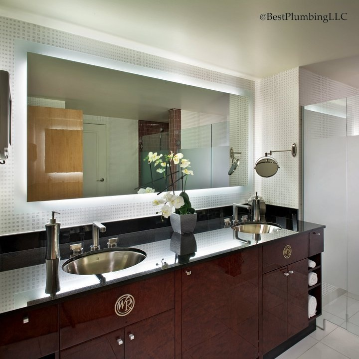 Bathroom Refinishing Las Vegas. Electric Mirror Available Best Plumbing  Seattle Wa 206 633 1700 Lighted Mirrormaster Bathplanet Hollywood Las  Vegasbathroom