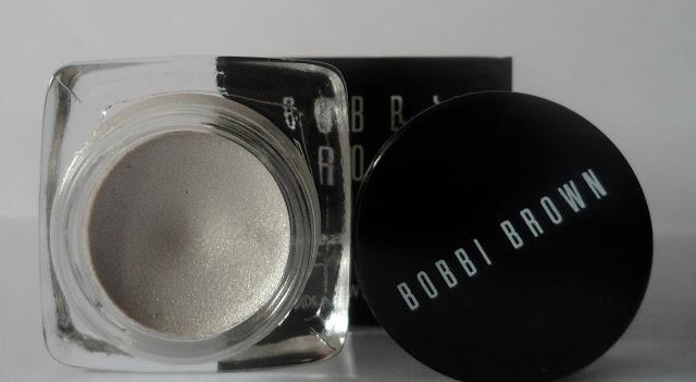 Bobbi Brown Long-wear cream shadow Platinum 22 review, swatch/ Стойкие кремовые тени Бобби Браун в оттенке Платинум №22