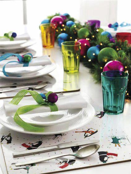 Ideas vestir la mesa en Navidad