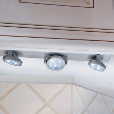 cabinet stick led p under on light tap lighting operated lights s kitchen battery wireless