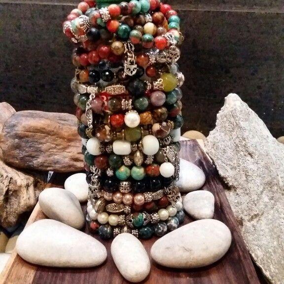 Etnic Bracelets made by me