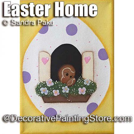 Gingers Easter Home ePattern - Sandra Paku - PDF DOWNLOAD