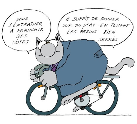 123 best images about le chat geluck on pinterest livres jack o 39 connell and belgium - Dessin cycliste humoristique ...