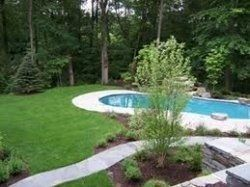 small backyard pool ideas nice landscaping around pool