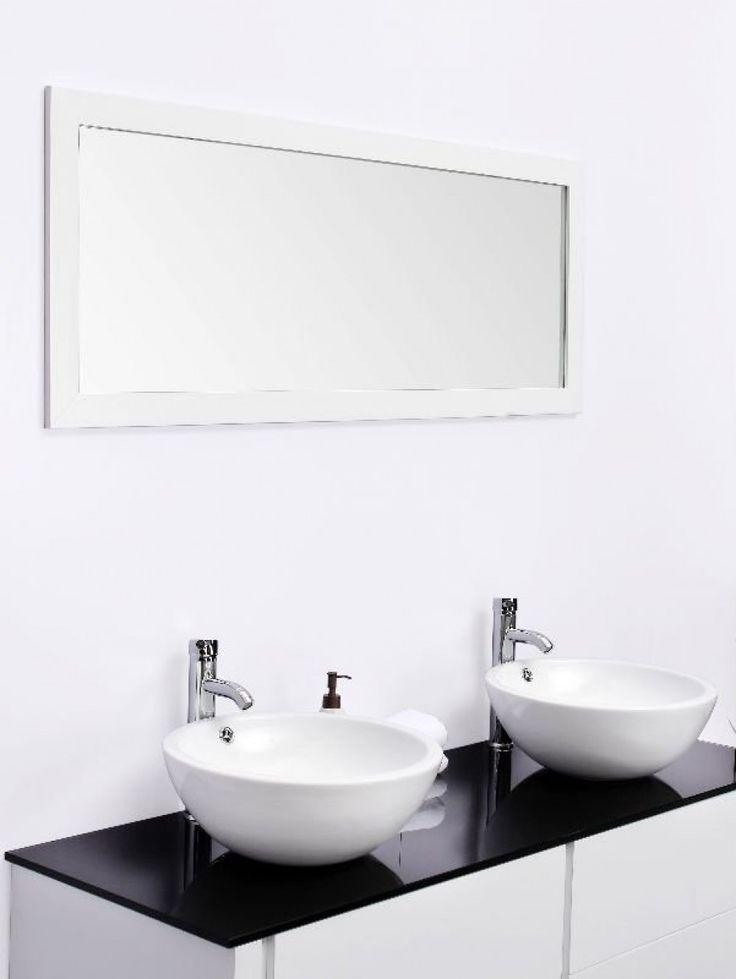 """Résultat de recherche d'images pour """"bovenblad modern wit badkamermeubel"""""""
