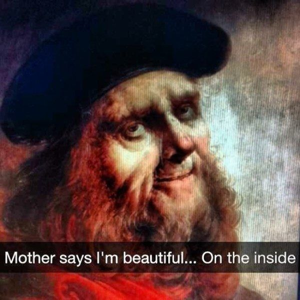 33 Hilarious Museum Snapchats That Captured The True Meaning Of Art