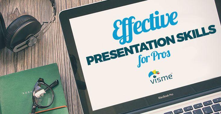 Effective Presentation Skills for Pros | Visual Learning Center by Visme