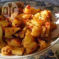 Pommes de terre et chou-fleur à l'indienne (Aloo gobi ki subzi) @ qc.allrecipes.ca