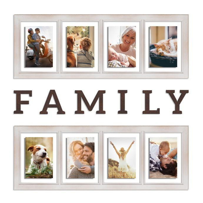 Wallverbs Family 8 Piece Picture Frame Set Bed Bath Beyond