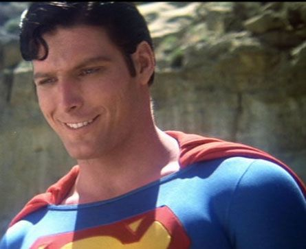 Christopher Reeve; the reel superman.