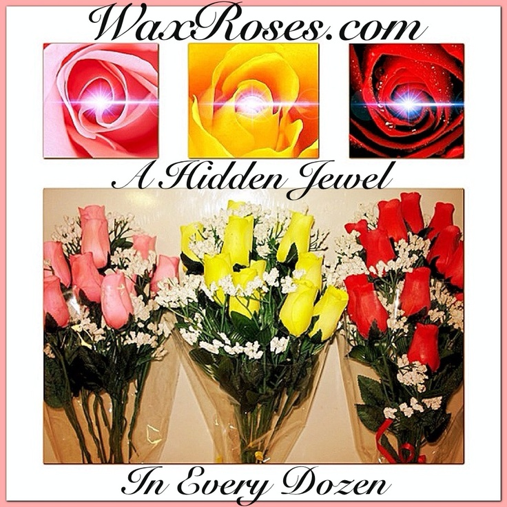 Coming January 15th!   Wax dipped wooden roses!  They look real and smell just like fresh cut roses! Scent lasts up to a year!