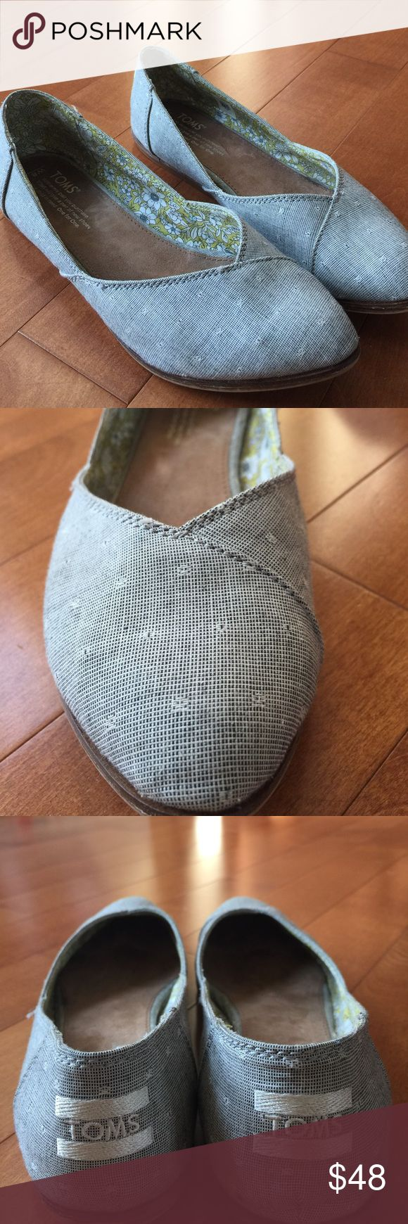 Toms Jutti sz8 Stitch Fix RARE PRINT shoe Toms brand Stitch Fix Jutti sz 8 LIMITED EDITION RARE PRINT shoe.  Perfect style and for summer!  Would look great paired with shorts or cropped jeans.  Comes from pet free and smoke free home. TOMS Shoes Flats & Loafers