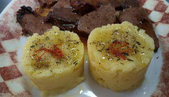 """Ricetta """"sformato di patate allo zafferano"""""""