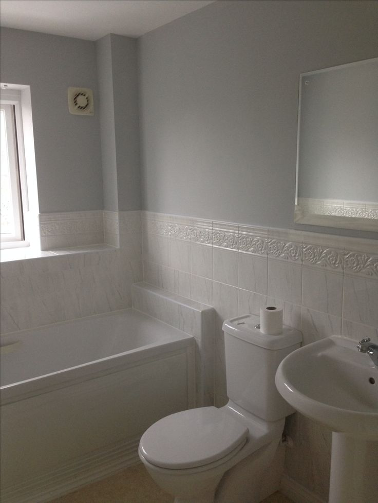 Goose Down Dulux To Replace A Magnolia Bathroom