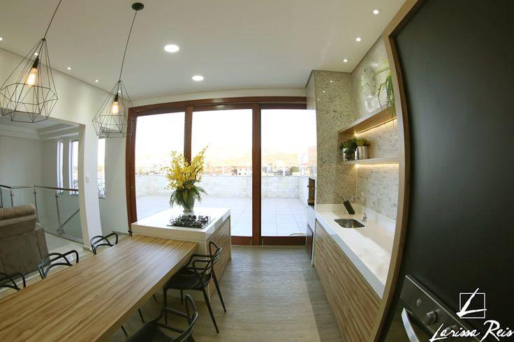 Cozinha - M&J: Cozinhas modernas por LARISSA REIS ARQUITETURA